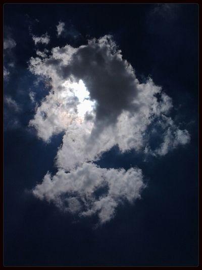 Sky Nubes Cielo Azul Cielo 'Nube de medio día soleado'