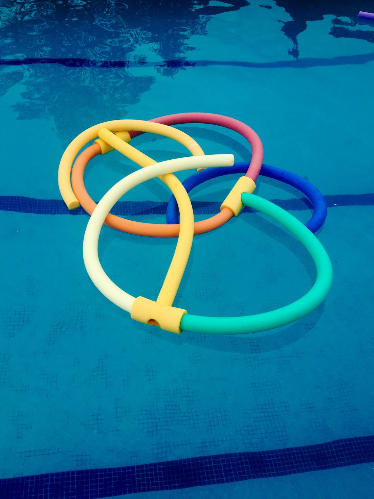 Art Blue Children Circle Close-up Colors Contrast Day Learning No People Outdoors Pool Noodle Summer Swimming Swimming Pool Toy Travel Vacation Water Yellow
