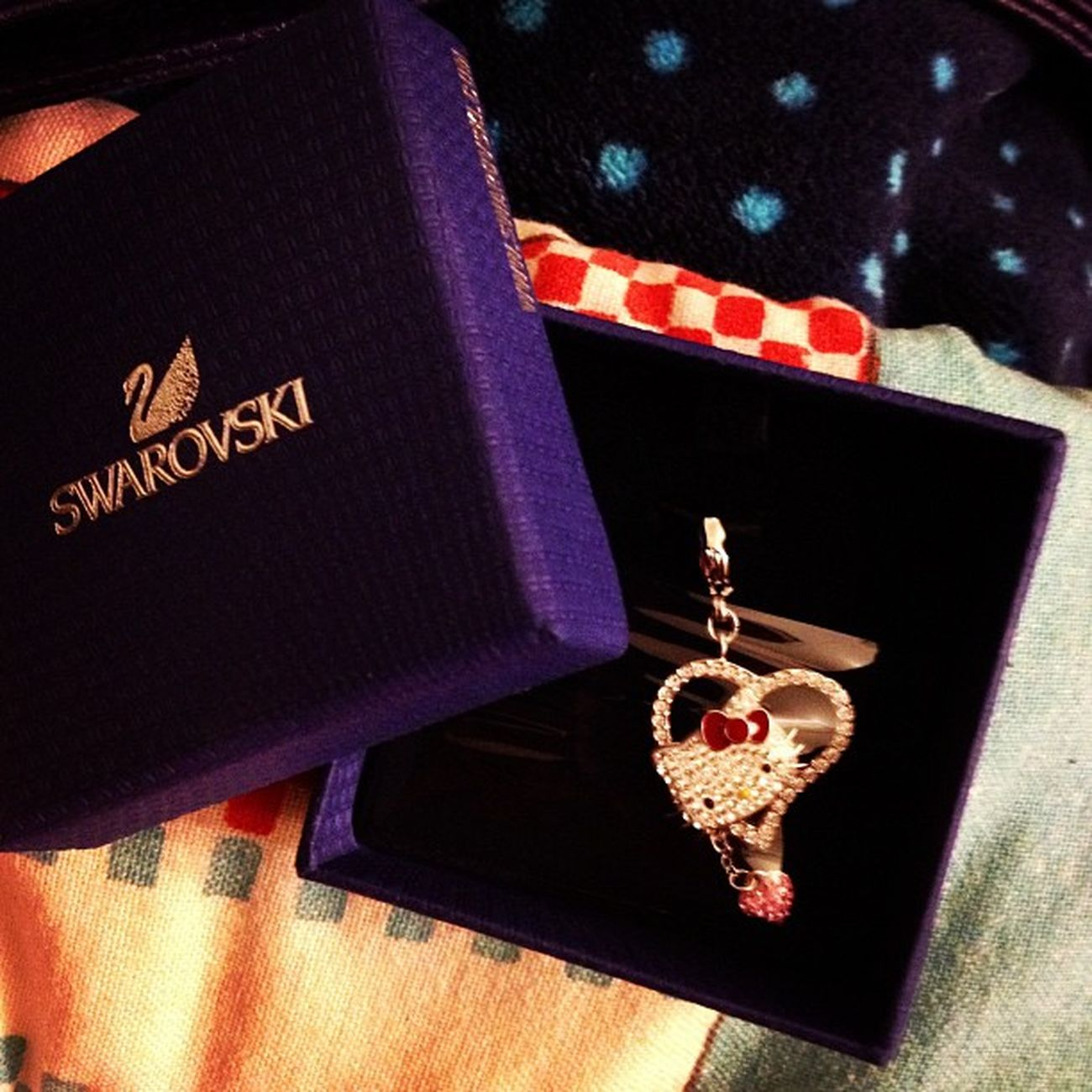After 5 months finally saved up enough to buy another charm!! 😊 Swarovski Charmsbyswarovski Iloveswarovski Swarovskiaddict Addictedtoswarovski Swarovskihellokittycharm Swarovskihkcharm Hellokitty Charm Hk Ilovehellokitty Hellokittyaddict Addictedtohellokitty