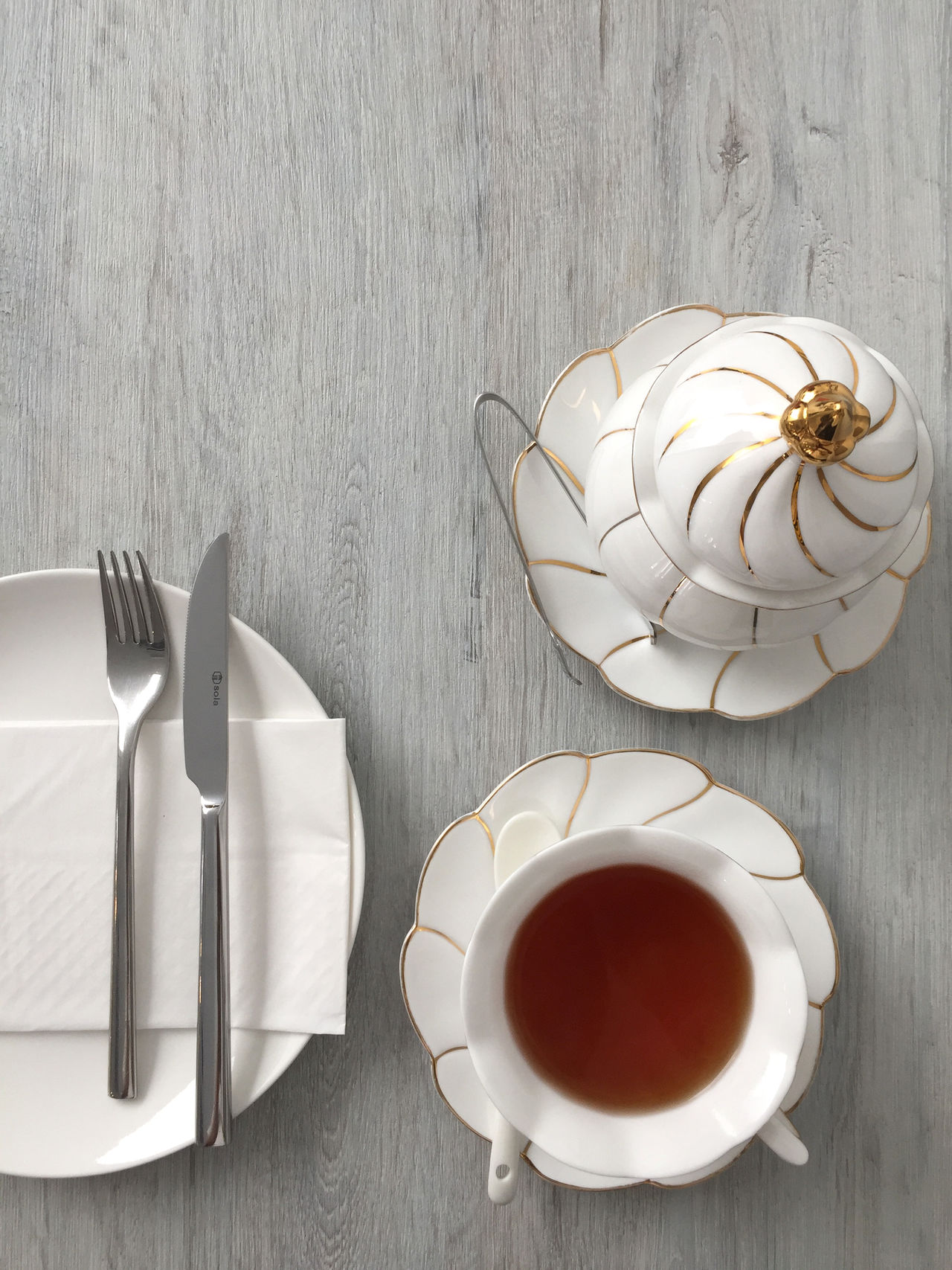 Afternoon Tea Breakfast Coffee - Drink Coffee Break Coffee Cup Day Drink Food And Drink High Angle View Indoors  No People Table Tea - Hot Drink Wood - Material