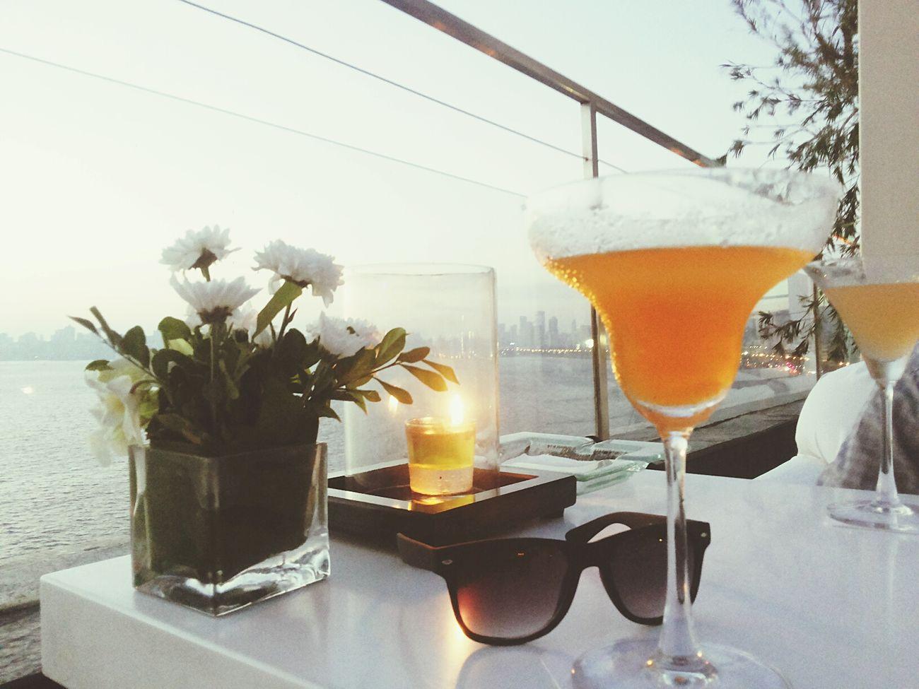 Sunset MumbaiDiaries Marine Drive Martini First Eyeem Photo