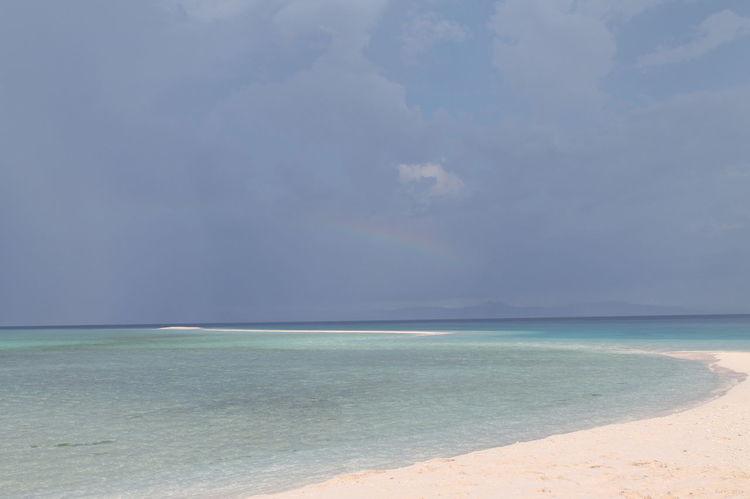 Kalanggaman Island Beach Rainbow🌈