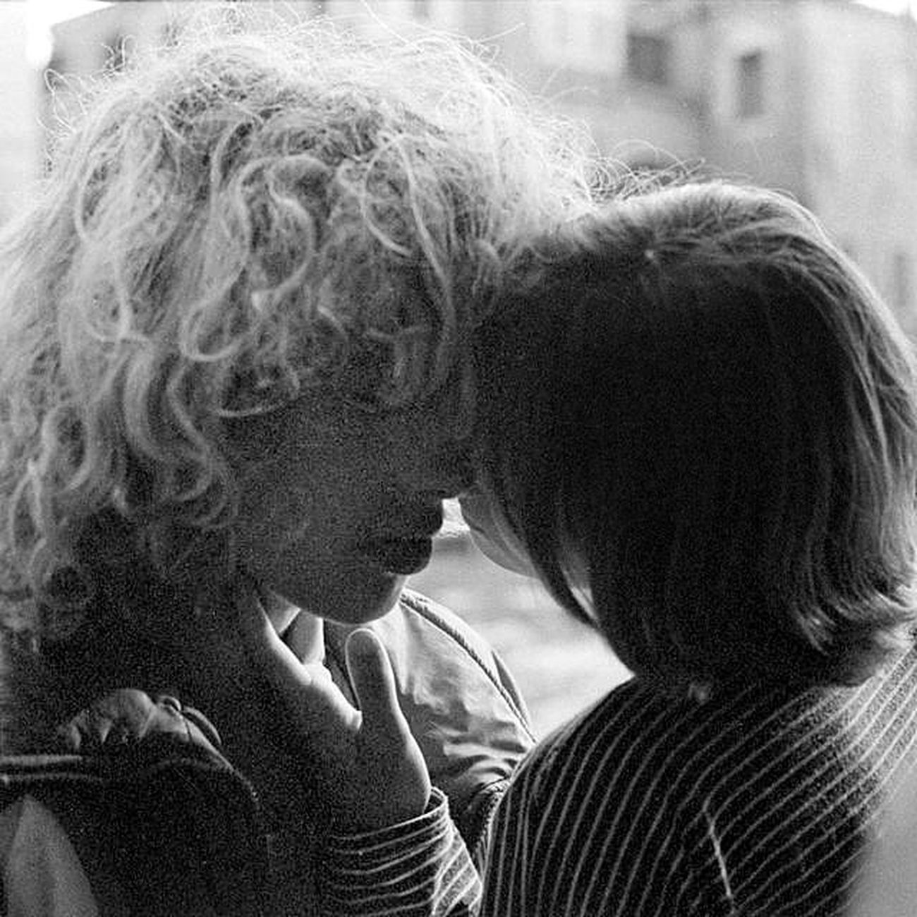Sweet kiss #2 Blackandwhite Streetphoto_bw Bw_collection Eye4black&white