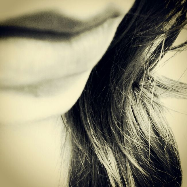 Me Blackandwhite Girl Selfportrait Lips Texture