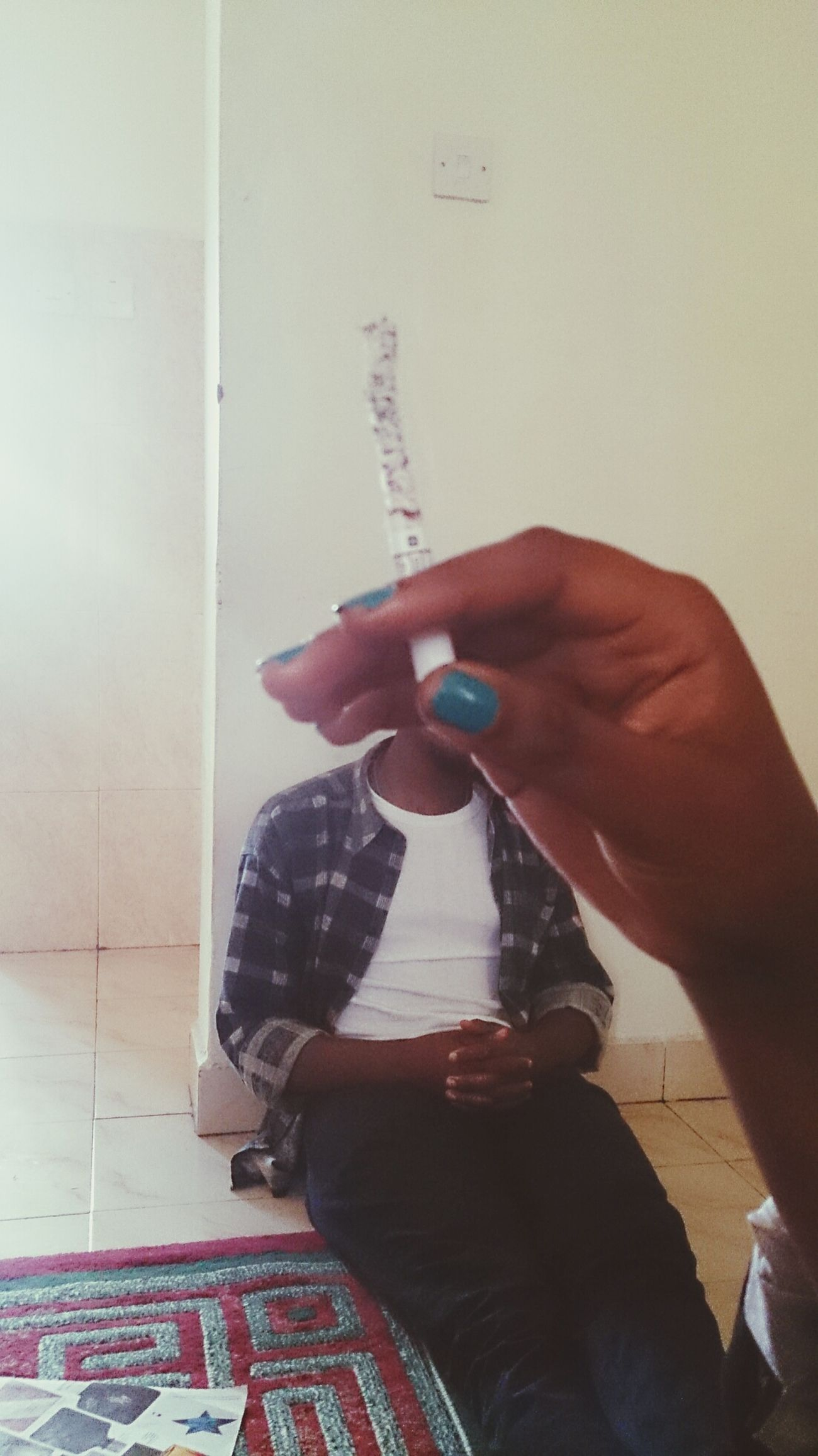 The Headless Man Bodyless Cigarette