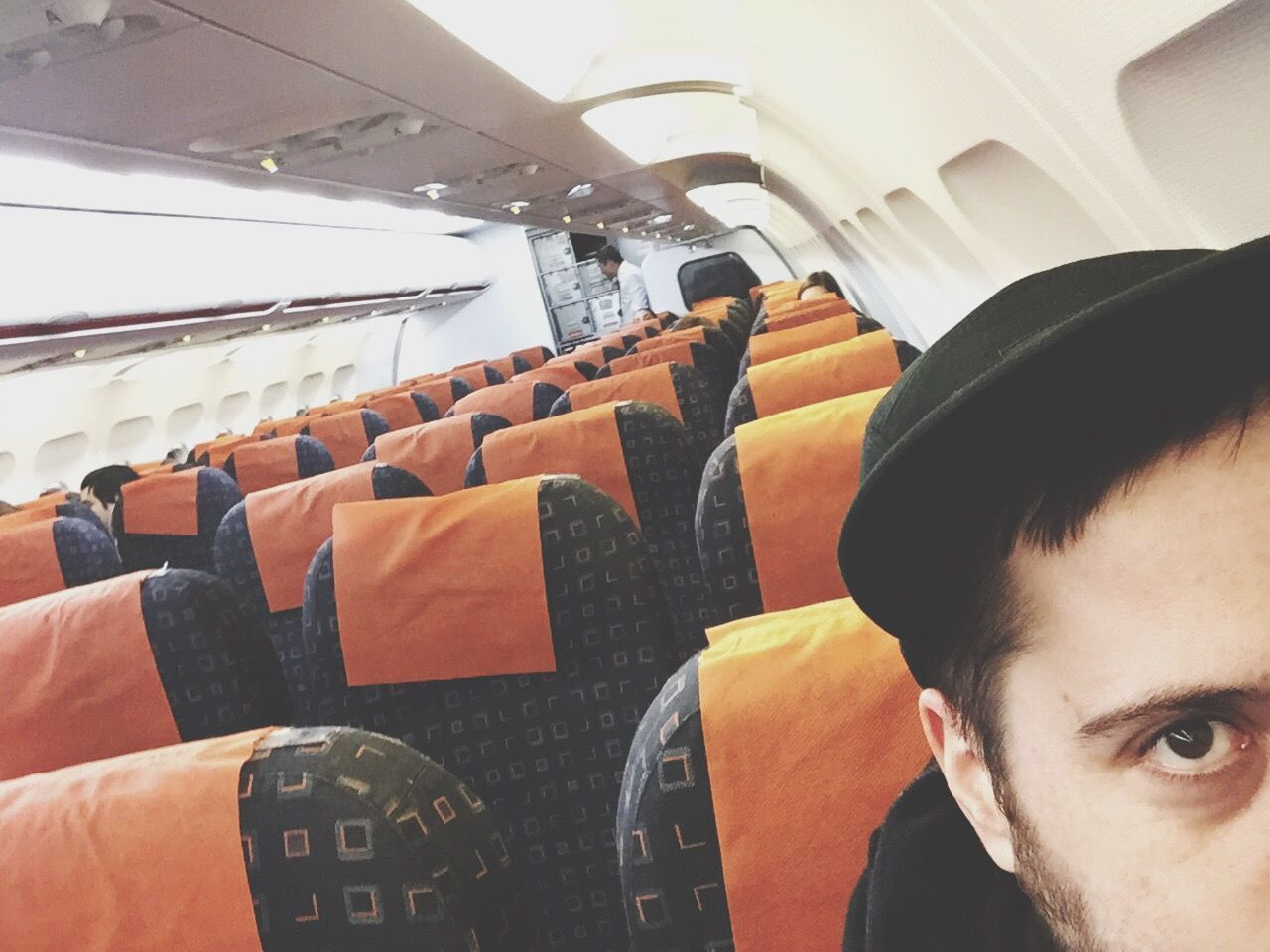 Alone in da plane Travel Yeah Nightlife