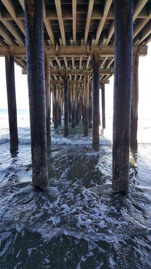 Samsung Galaxy Note 5 Avila Beach CA Dock Ocean Underneath Water Beach Outdoors