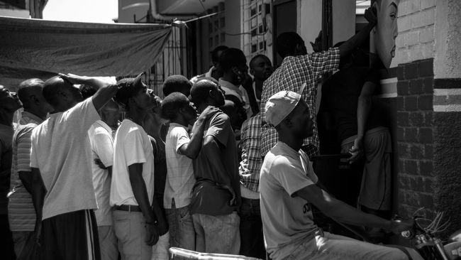 Cap Haitien Haiti Soccer time! Streetphotography