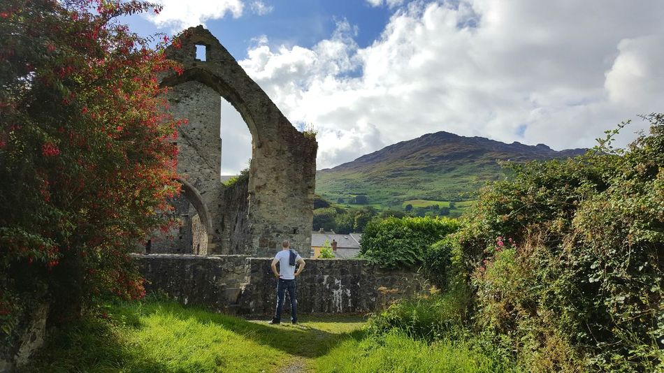 Carlingford Architecture Ruins Still Beautiful Built Structure Cloud - Sky