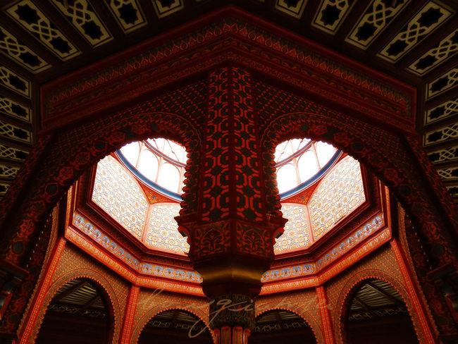 Architectural Detail Architecture Borgiante Cdmx KioscoMorisco Mexico Mexico City Morisco Red Red Color SantaMaríaLaRibera
