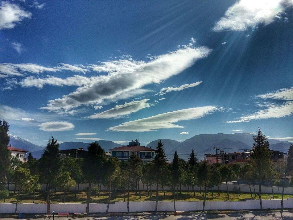 Doğa Manzara Gokuyuzu Mavi Bulutlar ☁