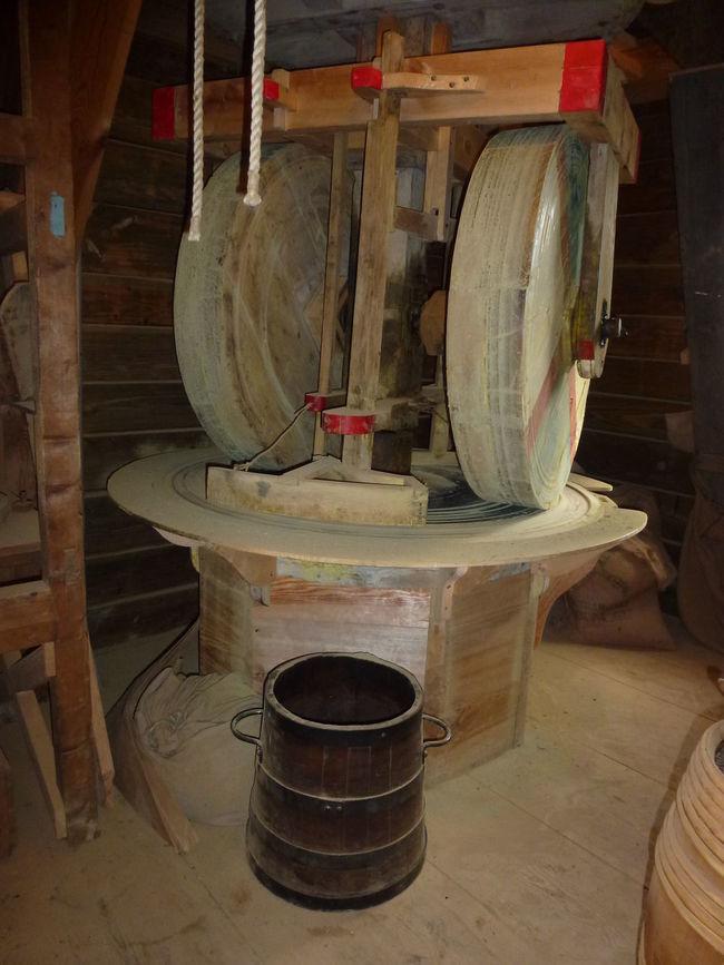 Musterd No People Old Days Windmill Wood - Material Workshop Zaanseschans Zaanseschanswindmill