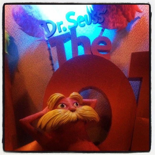 Dr Seuss - The Lorax. #drseuss #thelorax #iphoneography #cinema #movie #jomo IPhoneography MOVIE Cinema Thelorax Jomo Drseuss