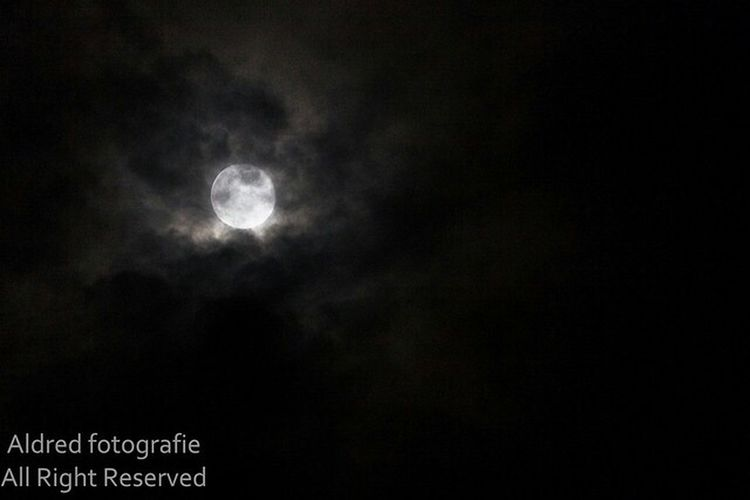 Supermoon 2014 Night Photography Nature flying to the moon, to the place among the stars.