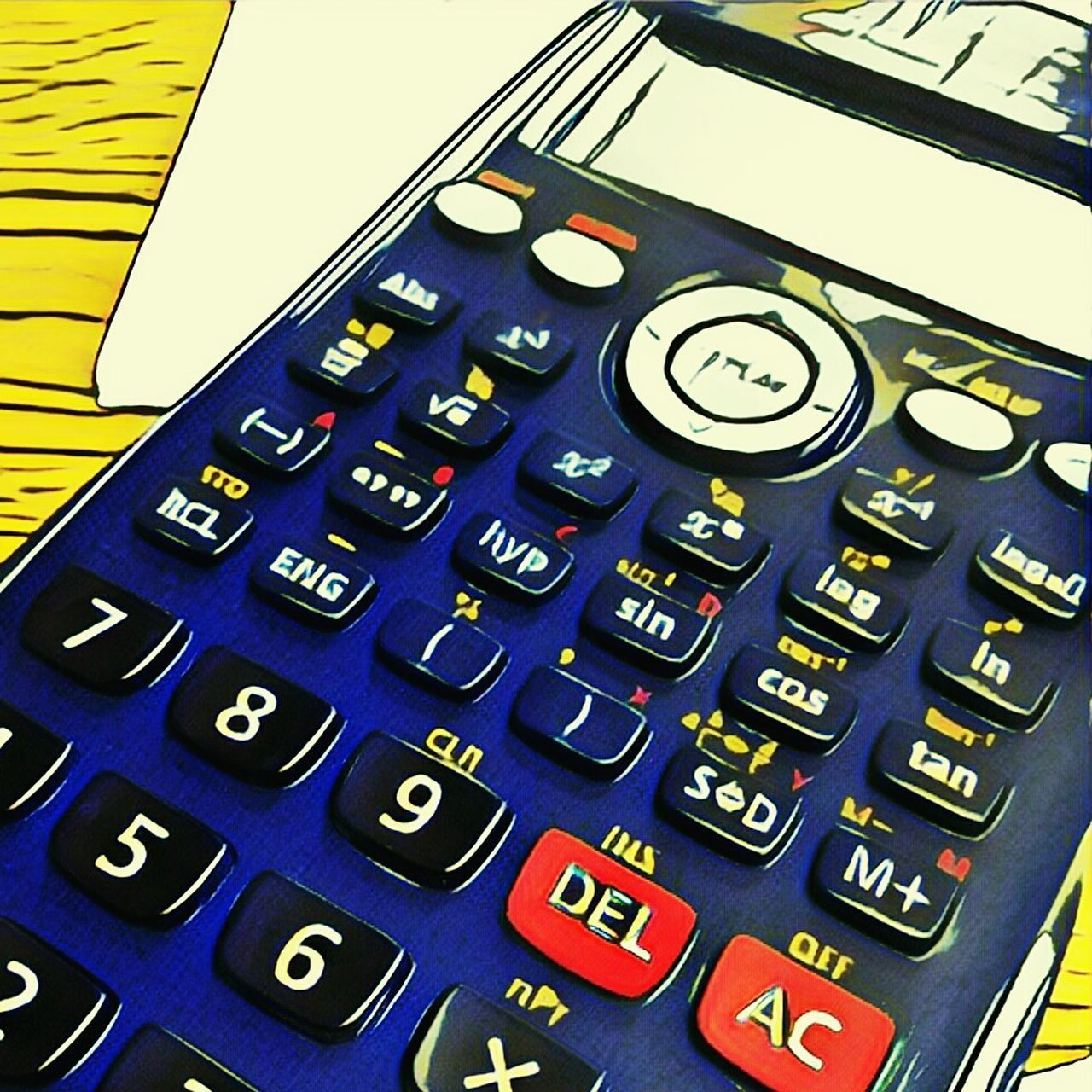 Education Calculator Calculater Calculadora Math Maths Numbers Variation Control No People Choice Close-up Indoors  Day