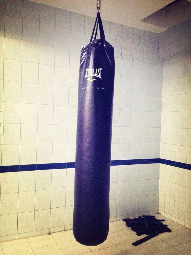 Everlast Punchbag anger is a short madness Provoke Kick Boxing