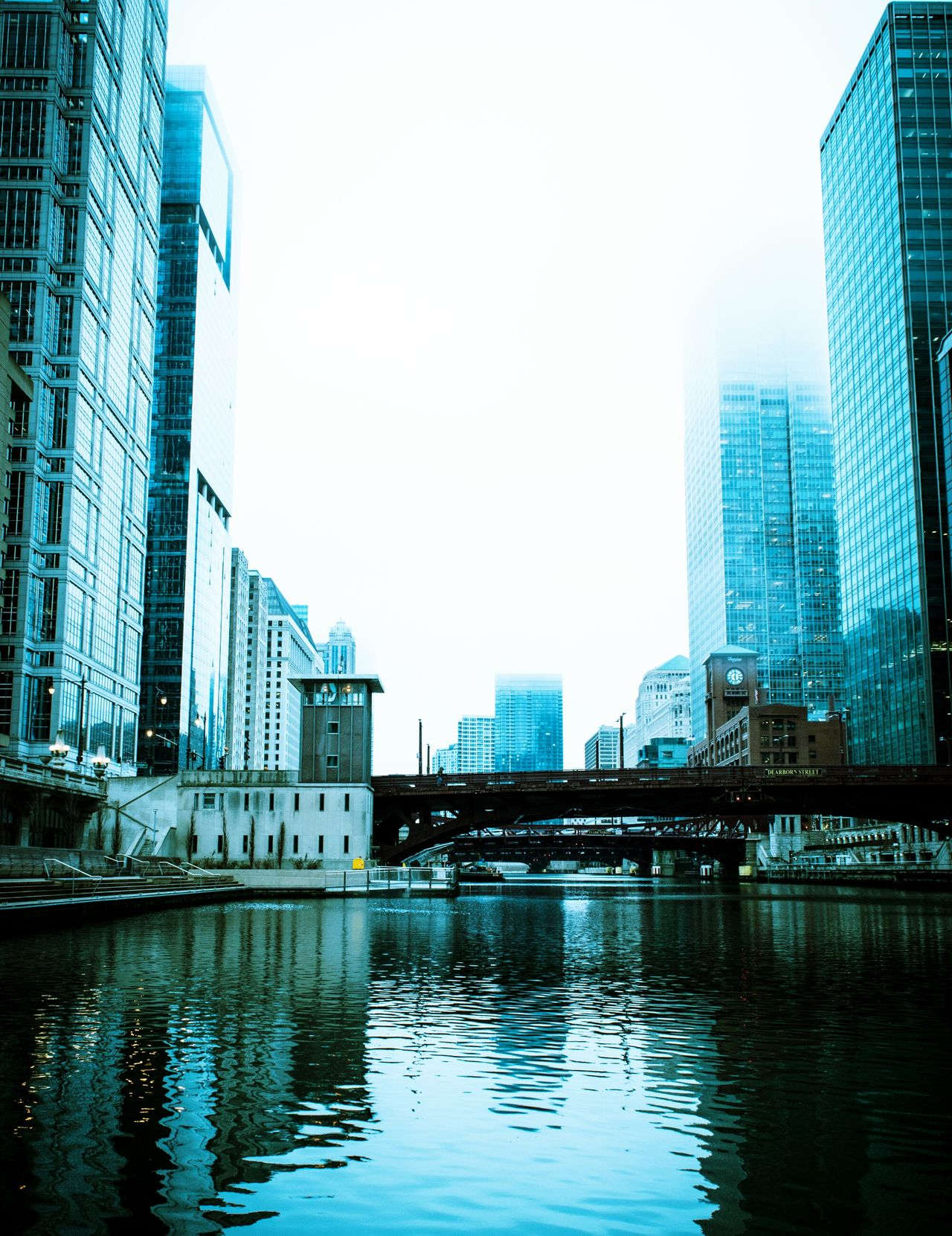 Reflection City Architecture Building Exterior Skyscraper Built Structure Water Urban Skyline City Life Downtown District Cityscape Office Building Exterior City Life Futuristic Chicago Chicago Architecture Cloud Sculpture Low Angle View From My Point Of View Cityscape Travel Destinations