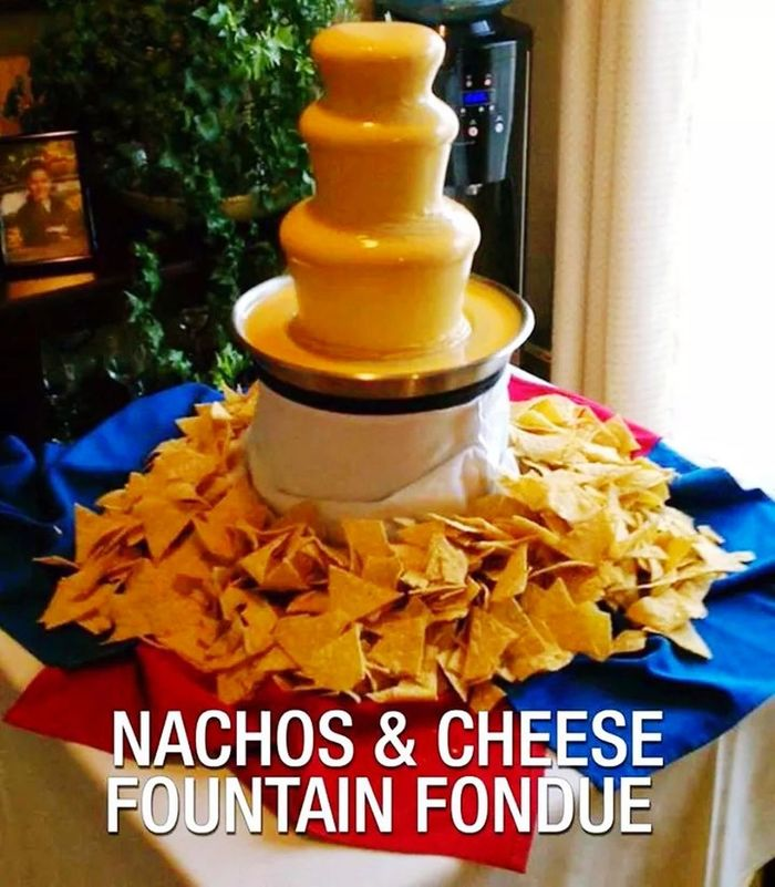 Nachos Cheese! Check This Out Foodporn CheeseFondue Yummy WOW
