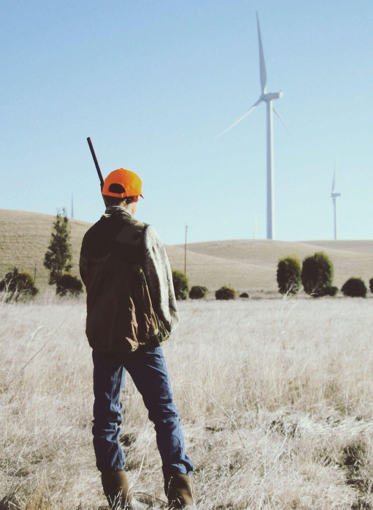 Beautiful stock photos of jagd, Alternative Energy, Cap, Casual Clothing, Clear Sky