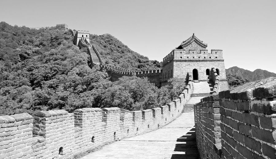 China Landscape Great Wall Great Wall Of China China China Landscape Chinese Day Nature Outdoors Sky