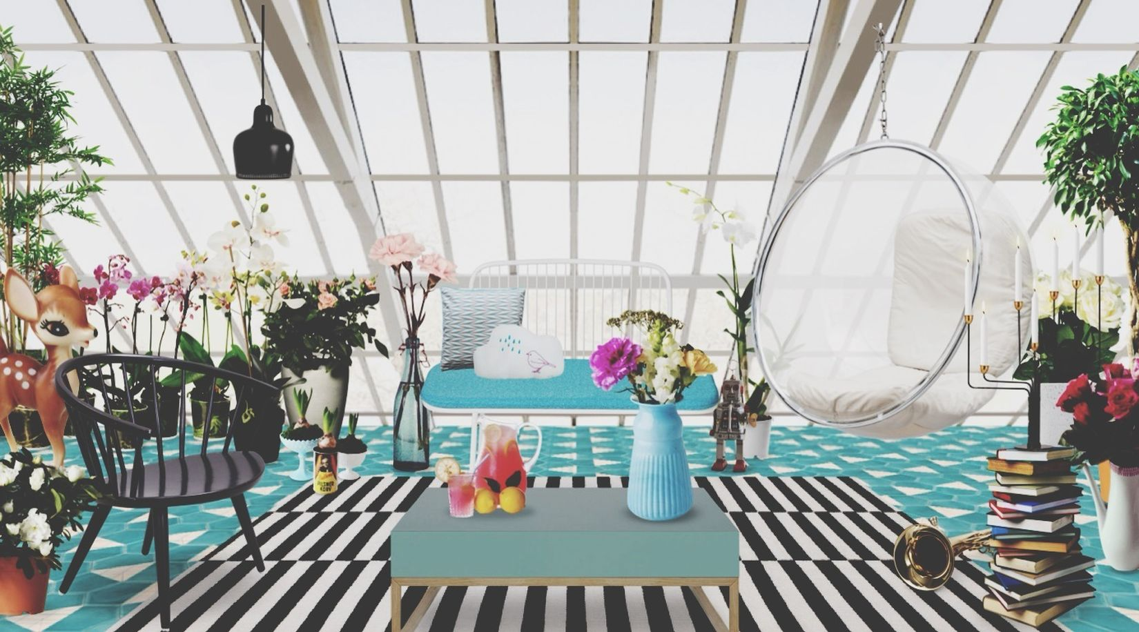 Architecture Interior Design Blue Neybers