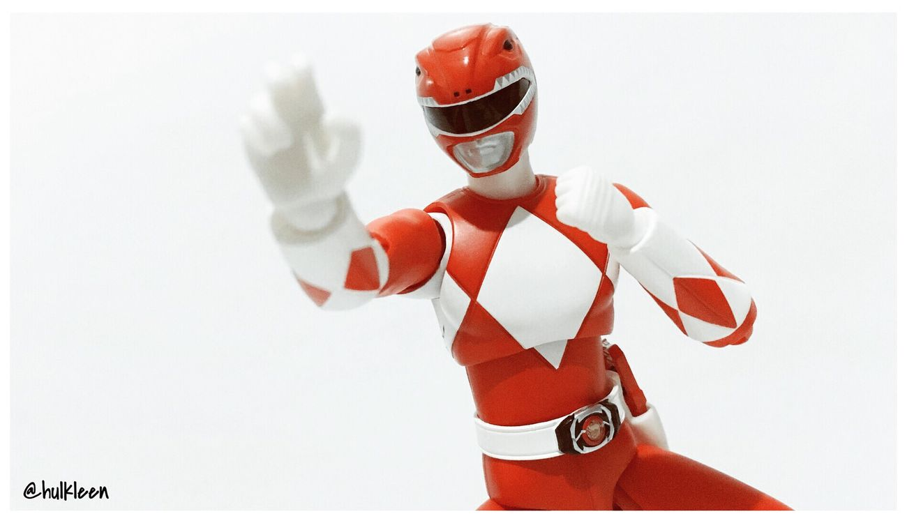 [Red Ranger] it's morphin time! REDRANGER MMPR Toyphotography Figurephotography