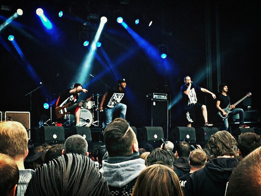 Taking Photos Live Music FortaRock XL 2013 Hacktivist