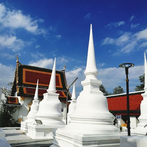 Temple Temple Architecture Sunny Day Clear Sky White Object Pagoda History Architecture Arts Culture And Entertainment Business Finance And Industry Travel Destinations Religion Royalty