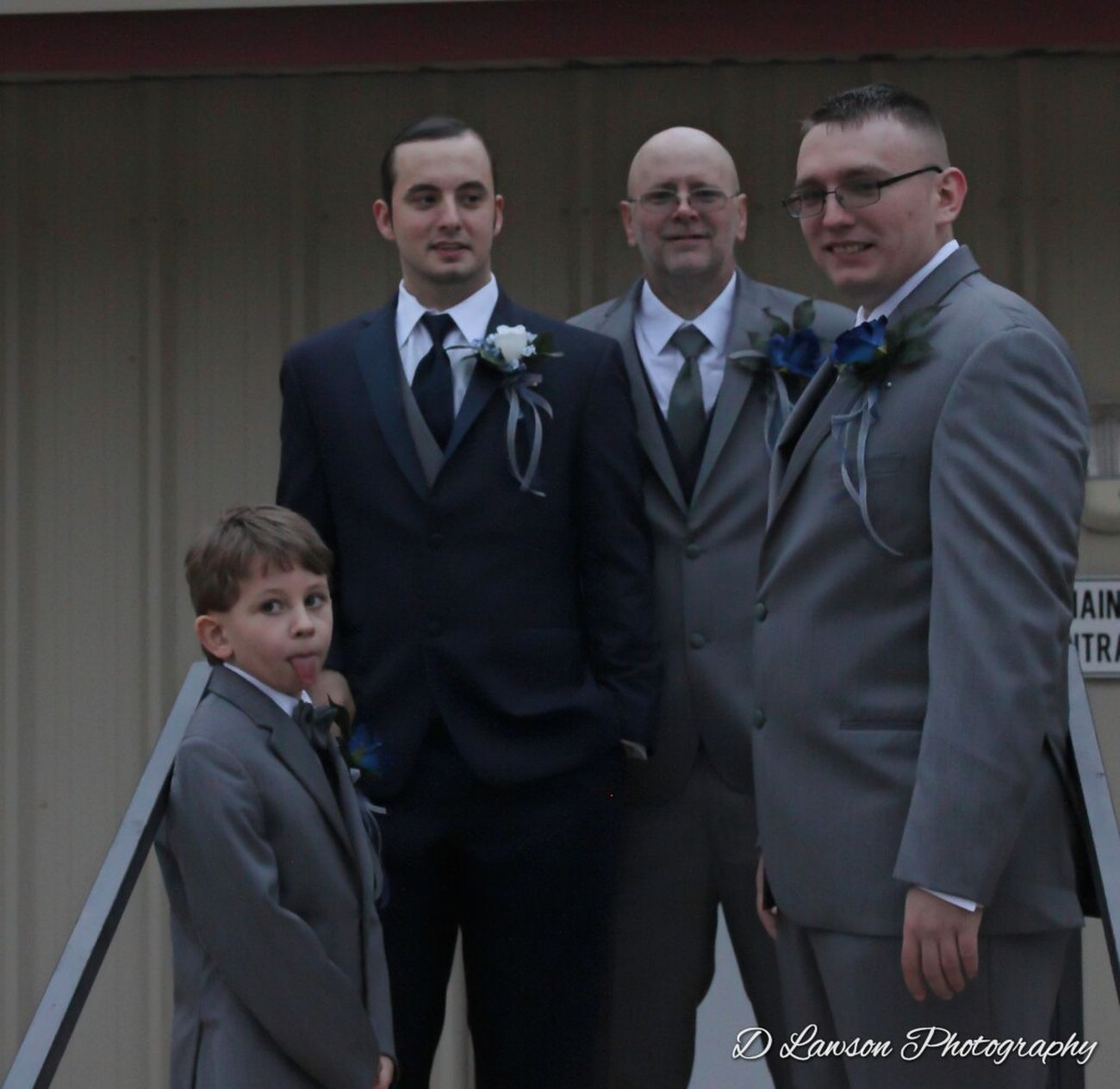 Men Portrait Togetherness Wedding Ceremony Life Events Love Happily Ever After Groomsmen Groom
