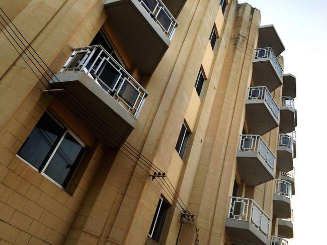 House Facade Building Architectural Feature Malta Architecture
