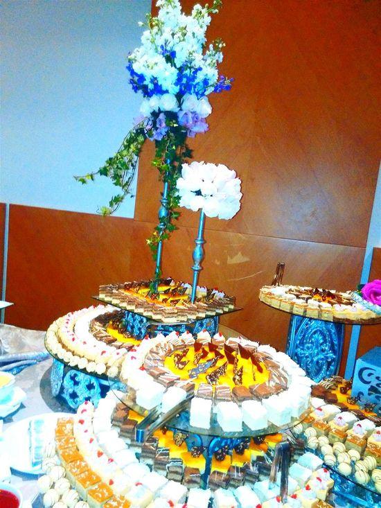 Dessert... Mmmmm Yum Yum  MissEcuador2016 ... Buffet Time!!!