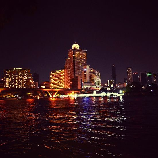 Goodbye bangkok Cityscape Skyscraper Urban Skyline City Illuminated Architecture Modern Night Office Building Exterior Downtown District Travel Destinations Building Exterior City Life Business Finance And Industry Outdoors Water Built Structure Bridge - Man Made Structure No People Bangkok Thailand. Nightphotography City Street BYOPaper!