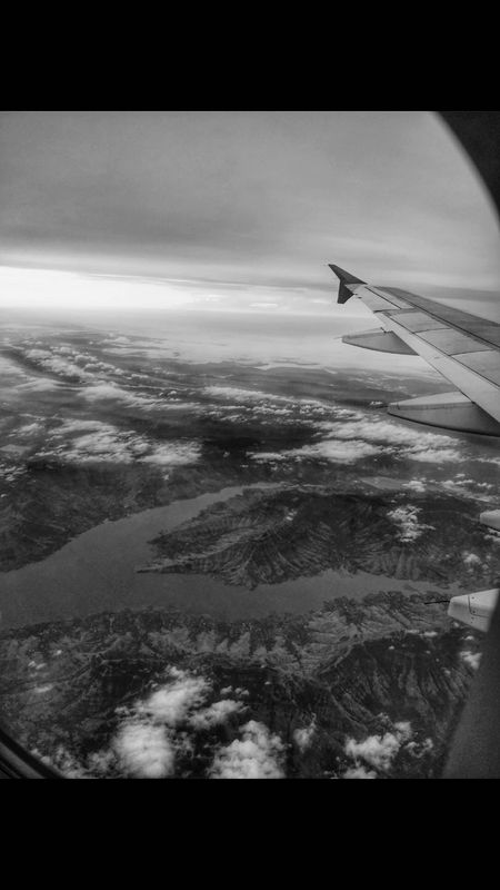 Airplane Aerial View Flying Transportation Aircraft Wing Air Vehicle Travel Journey Mid-air Cloud - Sky No People Sea Sky Airplane Wing Commercial Airplane Blue Day Nature Scenics Outdoors Landscape_Collection EyeEm Best Shots September 2017 Bestsellers 2017 Bnw_collection