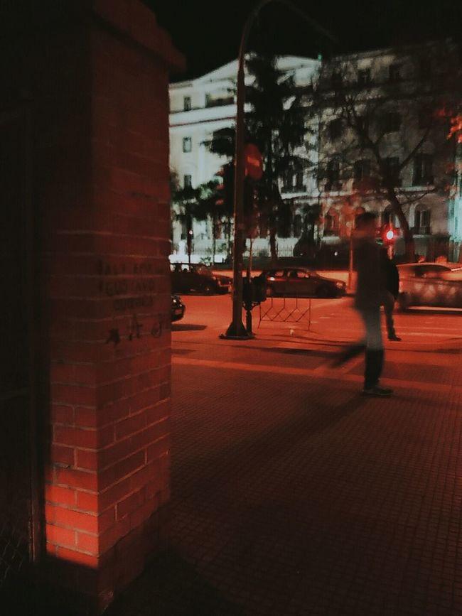 ]peripatetic philosophy[ Intothenight Redlights Walker Phantom Streetatnight Citywalks Nightview Randomshot Street