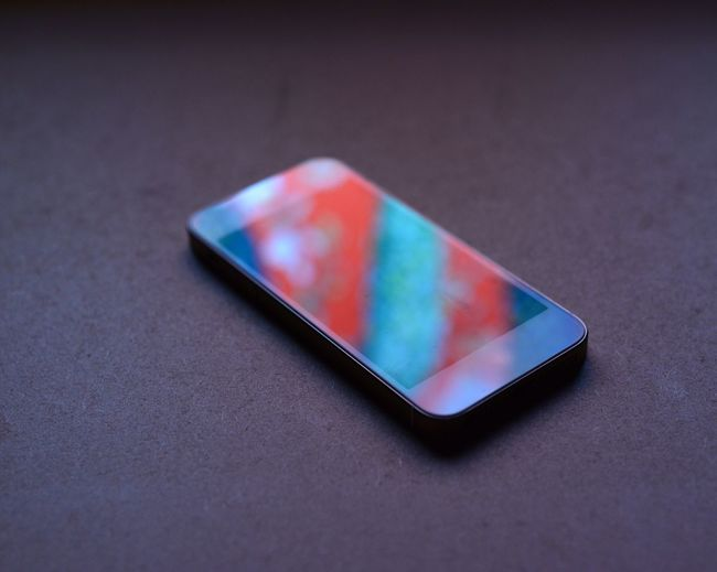 Blue Close-up Focus On Foreground Man Made Object Mobile Phone Multi Colored No People Obsolete Red Reflection Single Object Still Life