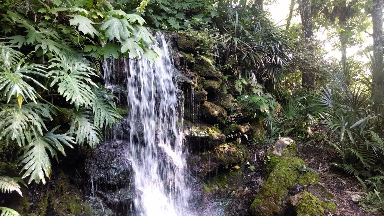 Man Made Nature Waterfall