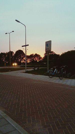 Tbt💕 Yesterday Skyporn Sky Street Sunset Holland