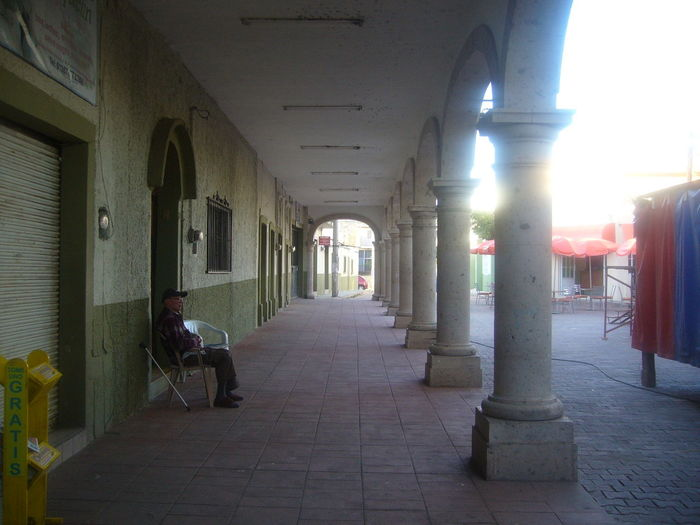 Architecture Architectural Column Outdoors Day Pueblomagico Villa Corona History
