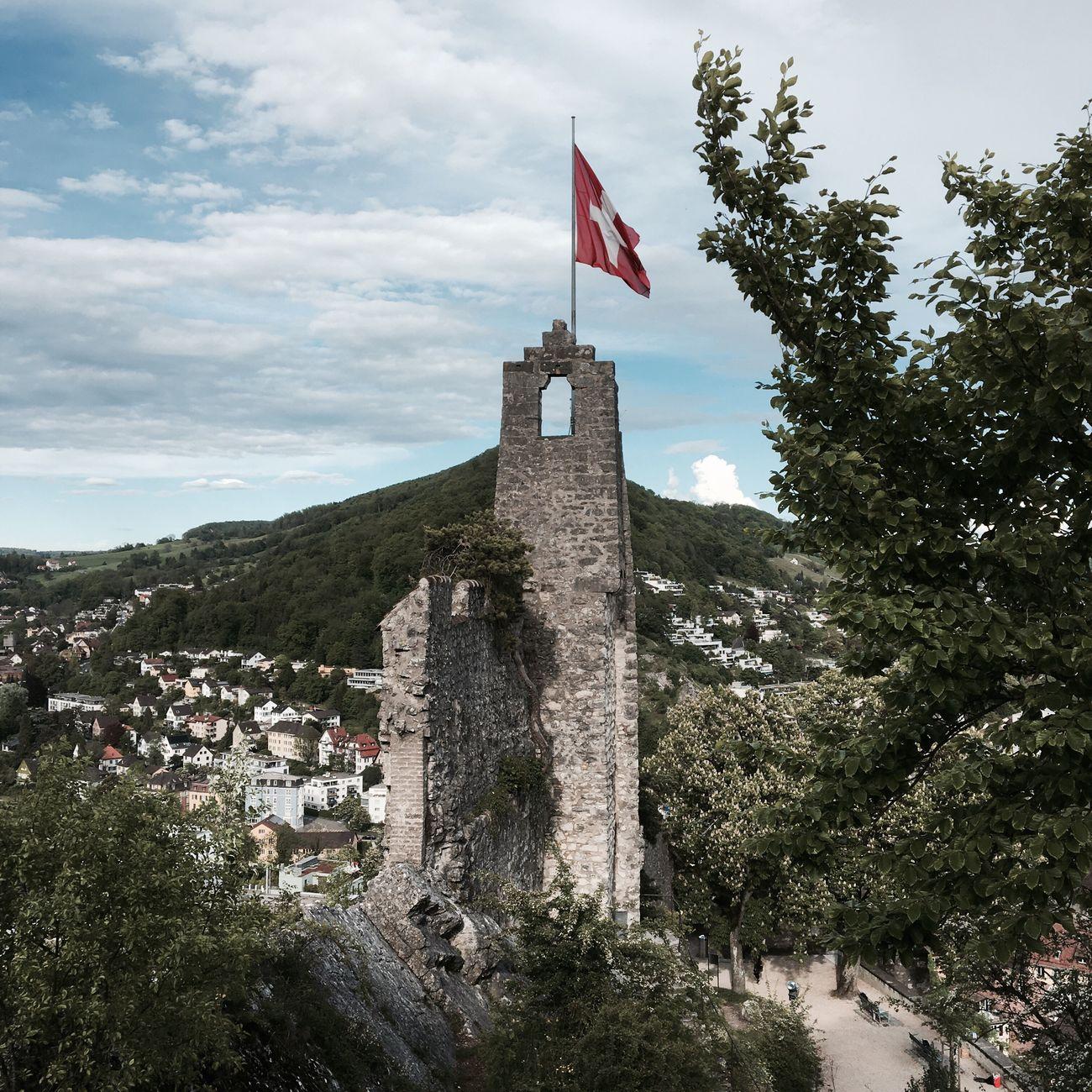 Stein castle Baden❤️ Baden 5400 Switzerlandpictures Aargau History Nature