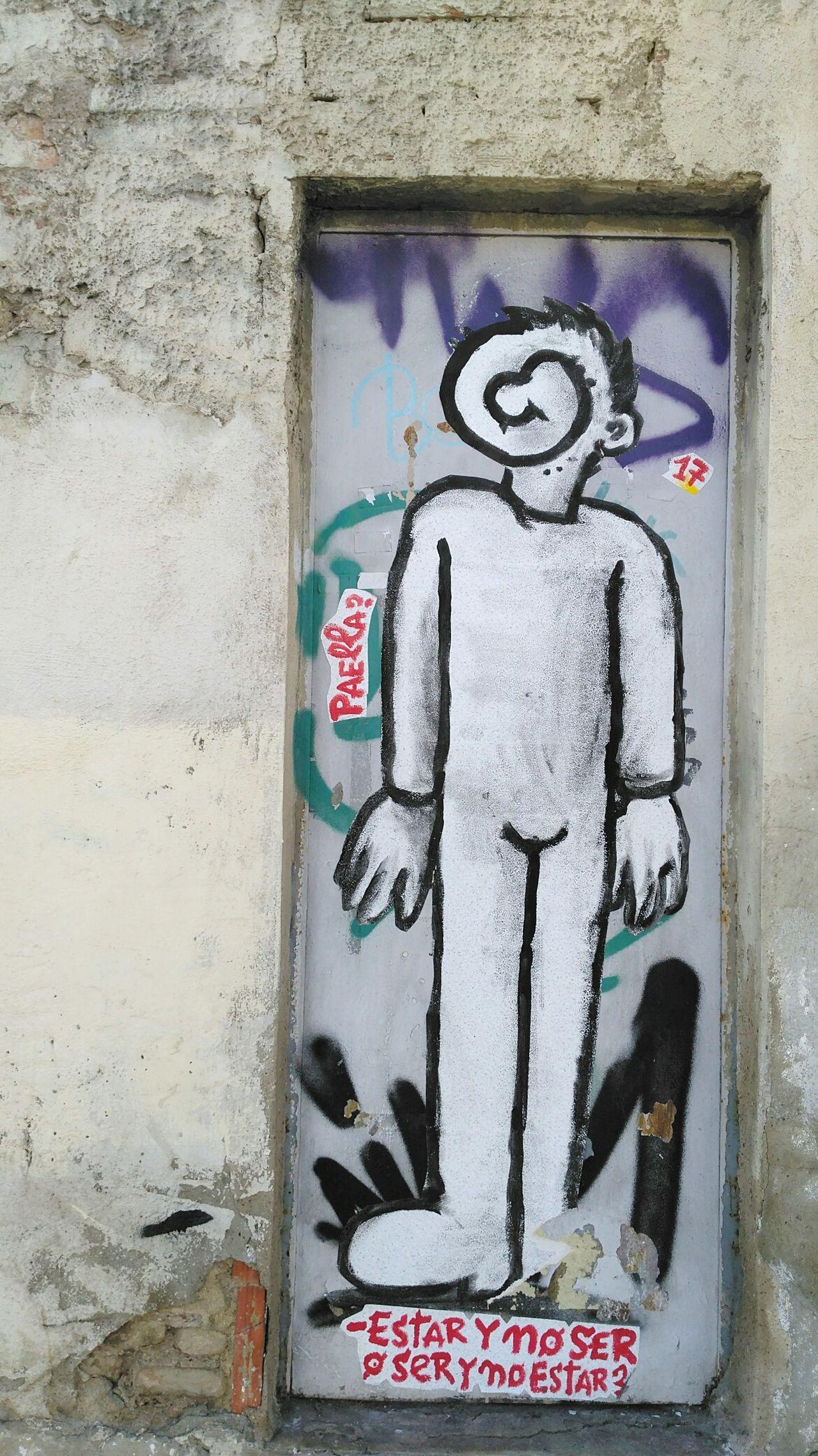 No People City Graffiti