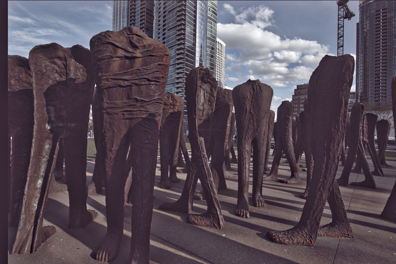 Agora Agora Chicago Agora Chicago Sculptures La El Imaging Photos - Agora Weird Sculptures Ch