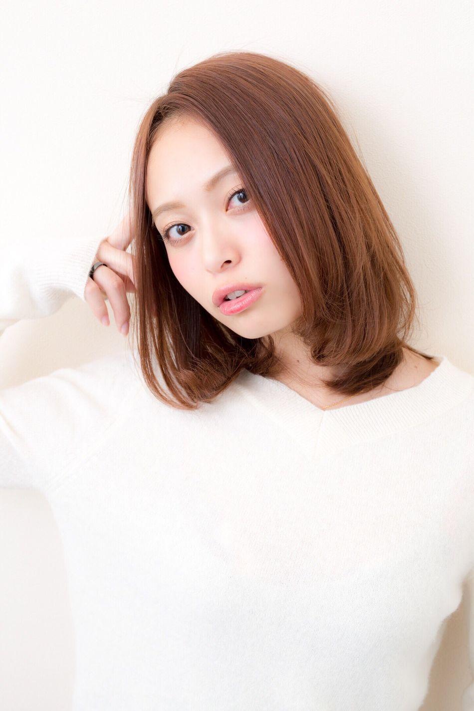 Hairstyle Kokubutoshinobu Japanese Girl Japan Beauty Beauty Girl Hair 箕面 サロンモデル 美容室 Natural Light Portrait