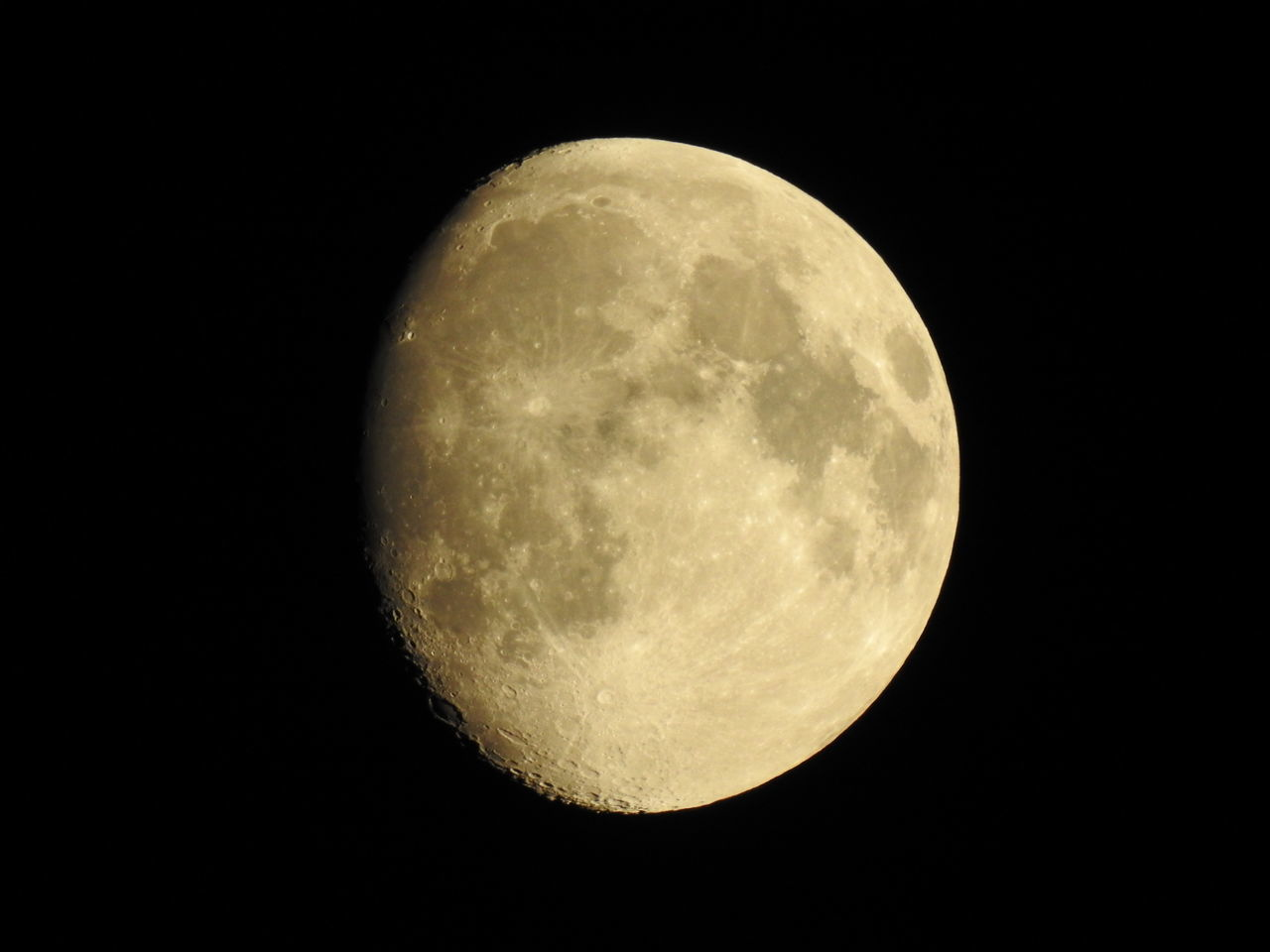 night, moon, astronomy, moon surface, beauty in nature, planetary moon, majestic, nature, scenics, tranquility, tranquil scene, no people, low angle view, space exploration, clear sky, outdoors, sky, half moon, space, close-up, satellite view
