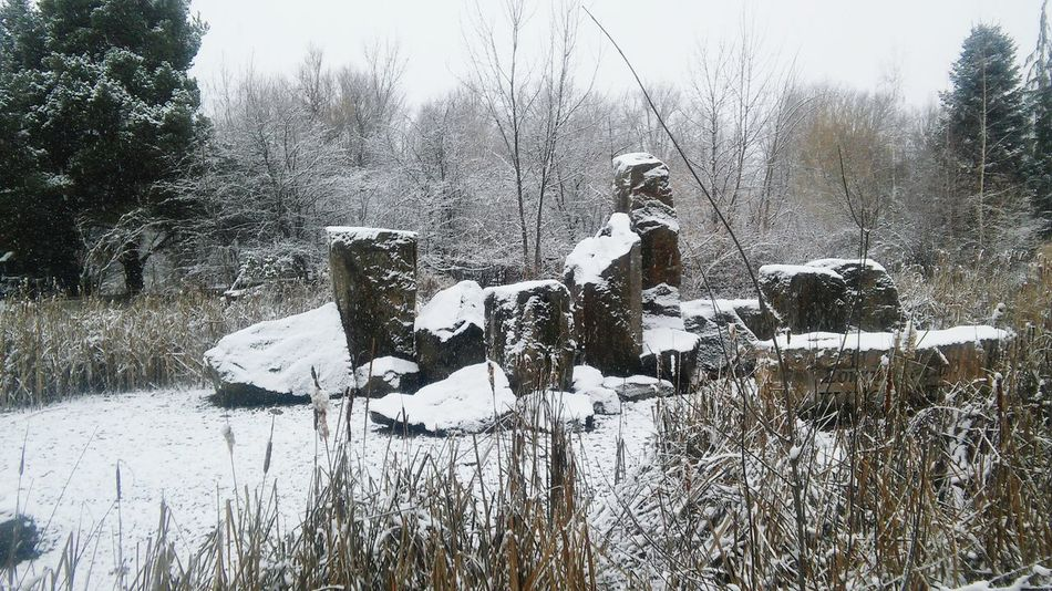 Snow Covered Rocks!! Relaxing Taking Photos Enjoying Life Hanging Out
