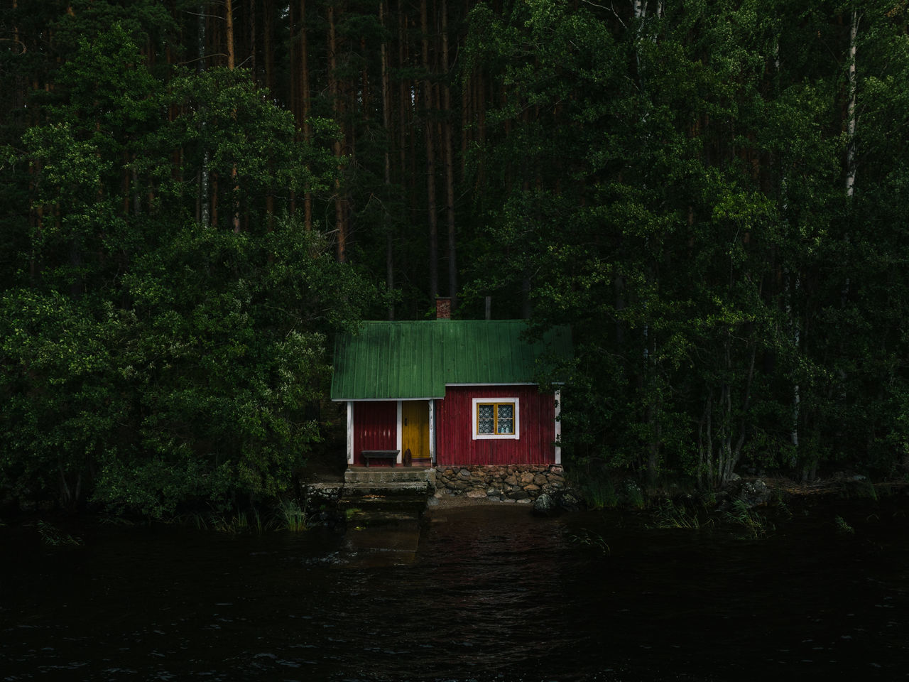 little house Beauty In Nature Finland Finn Green Color Haus Outdoors Red Rotes Rathaus Saimaa Sauna Scenics Tree