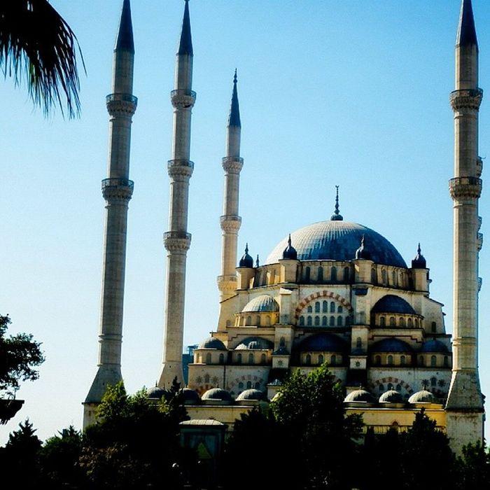 Sabanci Mosque Mascid Masjid cami sky tree islam islami musluman muslim iloveislam ilovedeen
