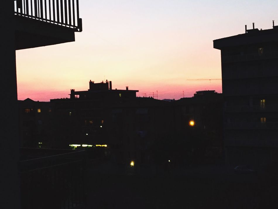 Sunset in SunSisto