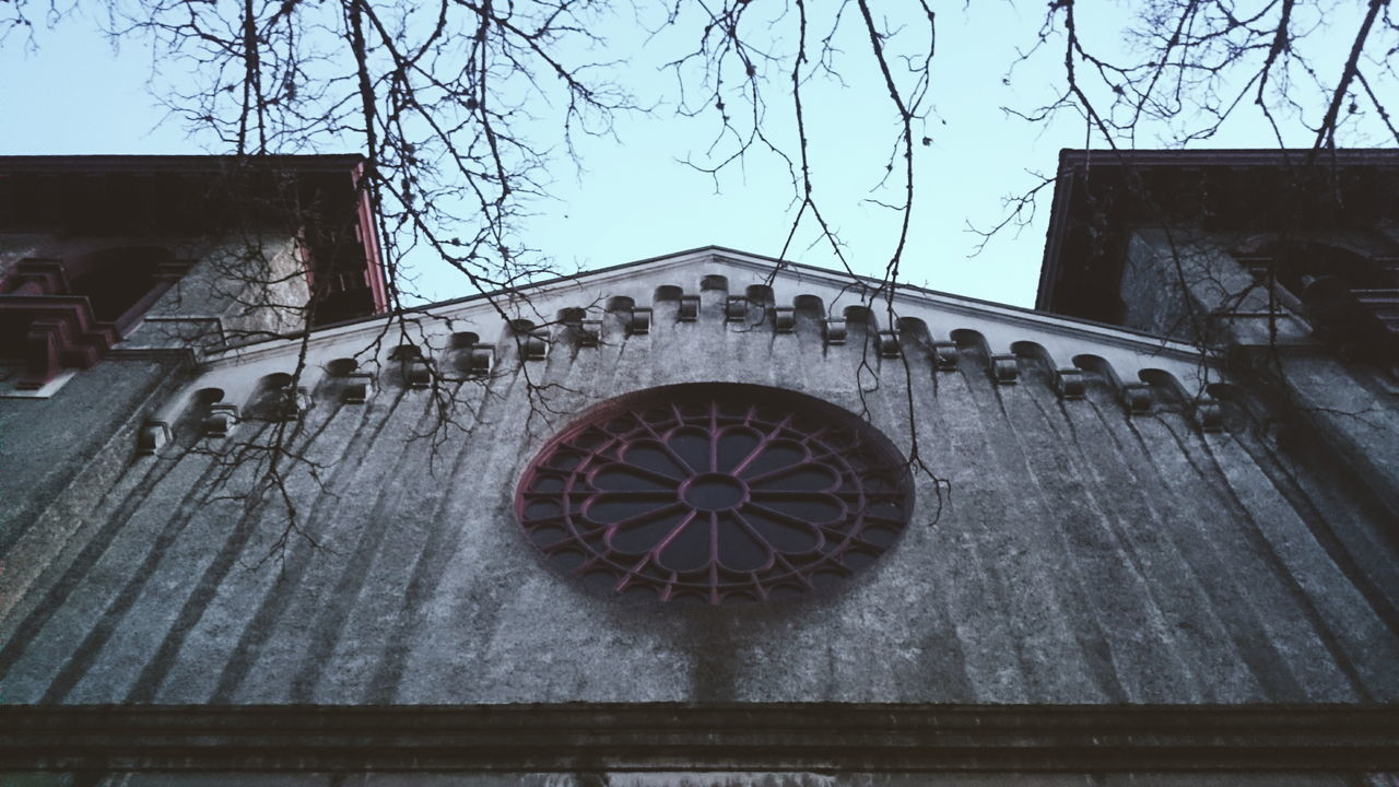 Architecture Windows Window Church Churches Church Window Historical Building Urban Geometry Dusk In The City Dusk Branches My Neighborhood Portland North Portland Symmetry