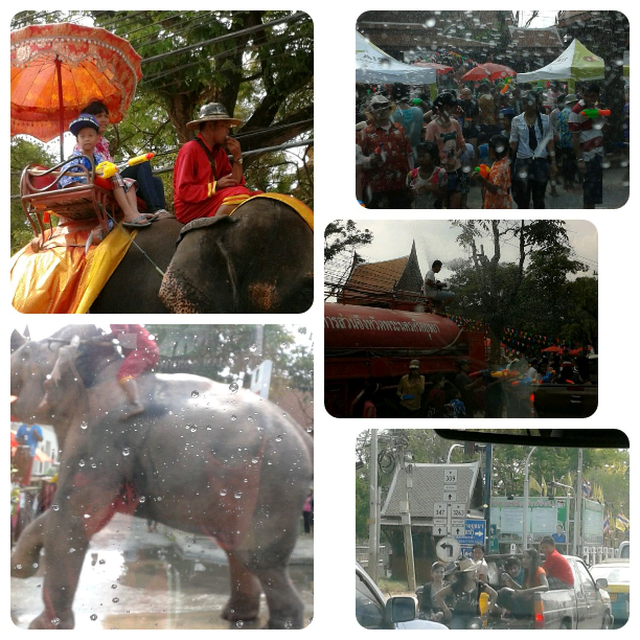 Songkran Festival  Day