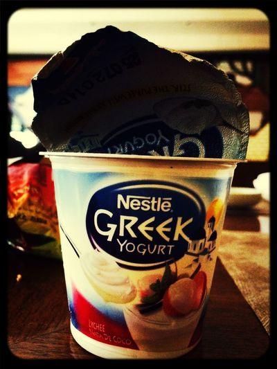Greek Yogurt. Eating Healthy Summer In The City Cheese!
